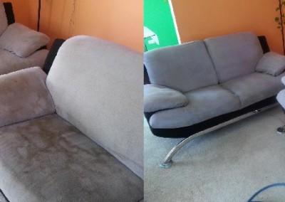 Hĺbkové tepovanie sedačiek Bratislava, vytepovaná sedačka vz. špinavá sedačka